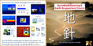 Dowsing and earth acupuncture 2 page cover